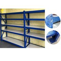 China Multi Layer Boltless Metal Shelving Units / Colored Warehouse Storage System wholesale