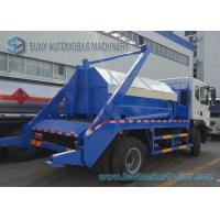 China Dongfeng 6 Ton - 8 Ton Garbage Collection Truck Swing Arm With Left Hand Drive wholesale