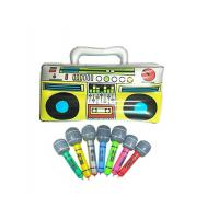 "China Colorful 16"" Inflatable Kids Toys Microphones Speaker & Musical Instruments wholesale"