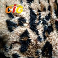 Buy cheap 100% Polyester Colorful Faux Fur Fabric Tricot Plain Fabirc Width 160cm from wholesalers