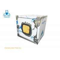 China Mechanical Interlock Stainless Steel 304 Pass Box For Clean Room wholesale