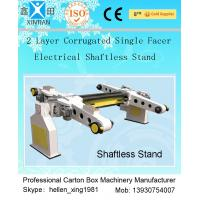 China Single Facer Automatic Cutting Paper Carton Making Machine With Manual Brake Disc wholesale