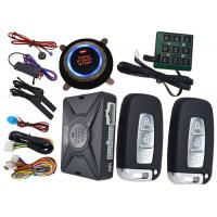 Passcode Car Security Protection PKE Alarm System , Remote Vehicle Starter System Bypass Output Manufactures
