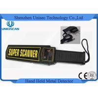 Popular Security Wand Metal Detector Hand Held In Schools With Optional Charger Manufactures