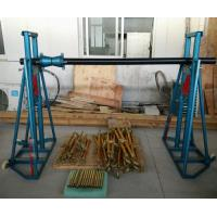 Quality Easy Moving Cable Drum Stand / Elevator , Cable Jack Stand 5 - 20 Ton for sale