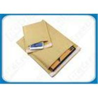 Buy cheap Gold / White / Natural Eco-friendly Kraft Bubble Envelopes Padded Mailing Bags from wholesalers