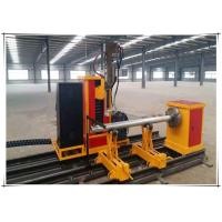 China 25kw Cnc Pipe Flame Cutting Machine 3 Axis Two Linkage Axises Intersection Cutter wholesale