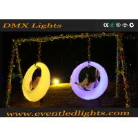 China Garden Led Swing Seat For Adults / Children , Colorful Modern Led Bar Counter wholesale