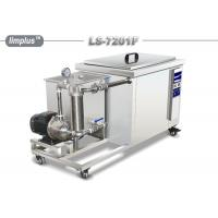 China Limplus Single Tank Industrial Ultrasonic Cleaner With Filteration And Skimming wholesale