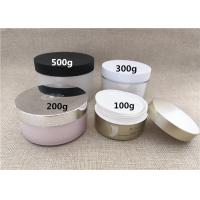 China Large Volume Plastic Jar Containers PS / PP / PETG Material Basic Round Shape wholesale