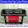 Buy cheap Graphic Vinyl Cutter HW630 Vinyl Cutter Plotter Contour Cutting Plotter 24 Vinyl from wholesalers