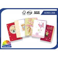 Quality Handmade Festival Greeting Cards Decoration Birthday Paper Greeting Card Design and Printing for sale