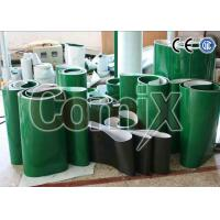 Green Smooth Softer PVC Industrial Conveyor Belts With Various Patterns Manufactures