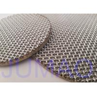 China Duplex Steel 2207 Sintered Stainless Steel Filter Disc For Pharmaceutical Industry on sale