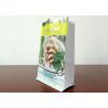China Frozen Dumplings Aluminium Foil Packaging Bags Flat Bottom Thickness 0.17MM wholesale