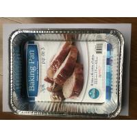 China Hygienic Aluminium Foil Container For Baking Food Package Eco Friendly on sale
