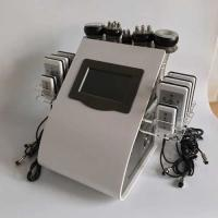 "China 8.4"" LCD Touch Screen Laser Lipo Cavitation Machine Frequency 5MHz 100KPA Pressure wholesale"