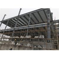 China Cost-effective Steel Frame Structure Construction Multi-storey Building wholesale