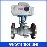 China PTFE Electric Soft Sealing Ball Valve, Stainless Steel Remote Control Valve wholesale