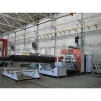 China HDPE Larger Diameter Hollow Spiral Pipe Extrusion Line up to 3000mm wholesale