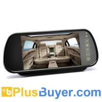 China 7 Inch Rearview Mirror Monitor (Touch Button Control, Dual Speakers) wholesale