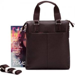 China hot sale Genuine Cowhide Leather men Briefcases Messenger Satchel Bags wholesale