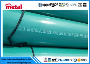 China SCH80 API 5L X42 MS PSL2 Coated ERW Carbon Steel Pipe wholesale
