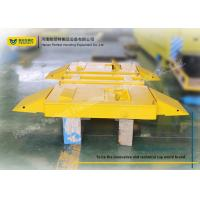 China Anti Rust Solid Tyre Heavy Duty Equipment Trailers / 5 Ton Trailer Two Layers Paint wholesale