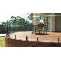 China Australia Standard Swimming Pool Stainless Steel Frameless Glass Balustrade with AS/NZS2208 on sale