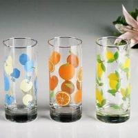 China Drinking Glasses with Silkscreen Printing Logos, Suitable for Promotional Gifts wholesale