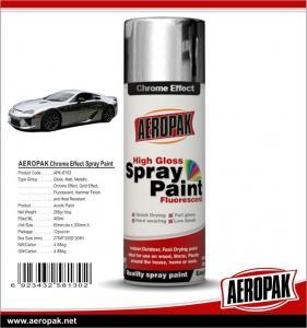 China Popular Decorative Wholesale Auto Mirror Chrome Aerosol Spray Paint Car Spray Paint wholesale