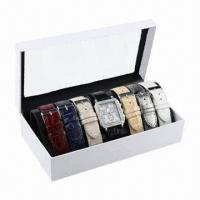China Wristwatch Gift Set with 6-piece Interchangeable Various Color Straps and One Piece Watch Together wholesale