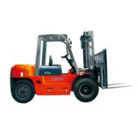 China Durable Warehouse Lifting Equipment 5 Ton Diesel Forklift With Side Sliding Fork wholesale