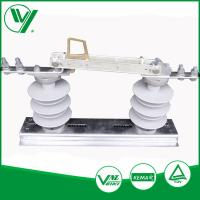 China Outdoor 12KV 400A Three Post Low Voltage Isolator Electric AC Isolation Switch wholesale