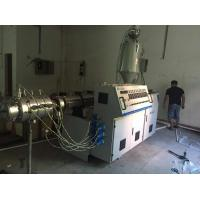 China 160mm PVC Plastic Pipe Extrusion Machine Conical Twin Screw Extruder wholesale