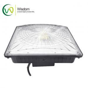 Buy cheap AC100-277V LED Parking Garage Lights 5000K UL DLC 65W Aluminum Material PC Lens from wholesalers
