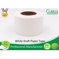 China White Waterproof Gummed Self Adhesive Kraft Paper Tape Water Activated Tape wholesale