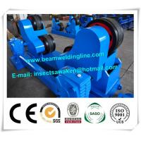 China Blue Conventional Welding Rotator , Self Aligned Welding Turning Rolls wholesale