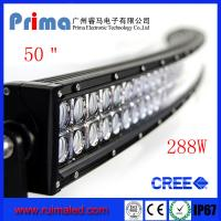 "China 50"" 288W Curved Led Light Bar- Double Row wholesale"