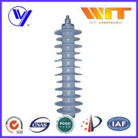 China 33KV Gray Polymer Antenna Lightning Surge Arrester Electrical Equipment Protection wholesale