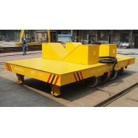 China Automatic welding carriage handling cargo rail cart with hydraulic system in plant wholesale