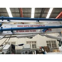 Quality 13m 15m 17m Trailer Mobile Spider Concrete Placing Boom Arm Distributor Worked for sale