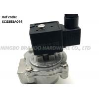 China 1 Inch Threaded Body Pneumatic Pulse Valve SCG353A044 With White TPE Diaphragm wholesale