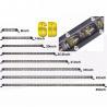 China Aluminum housing 32 Inch  Single Row super slim Off road Led light Bar   ATV Car Truck Light wholesale