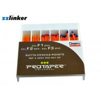 China Three Packing Protaper Gp Points Protaper Paper Points With Different Size wholesale