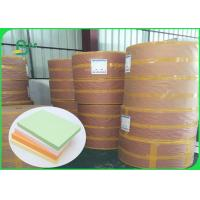 FSC Pure Wood Pulp Colored Green Offset Printing Paper Color Designated 70CM 100CM