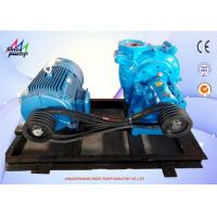 China 6 / 4 D - AH Hard Metal High Chrome Alloy 	Horizontal Centrifugal Slurry Pump wholesale