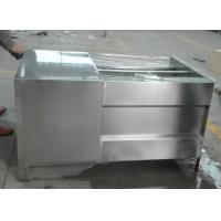 China Hot sale ultrasonic fruit vegetable washer with stainless steel material wholesale