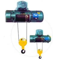 China Transfer Cars Electric Wire Rope Hoists with Lifting Capacity 0.5~50ton CD, MD Type wholesale