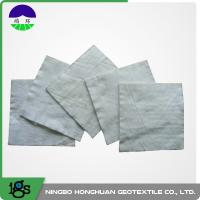 100% Polyester Continuous Filament Nonwoven Geotextile Filter Fabric Grey Color Manufactures